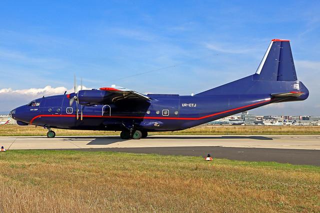 Meridian Antonov An-12BK UR-CTJ FRA 13-09-21