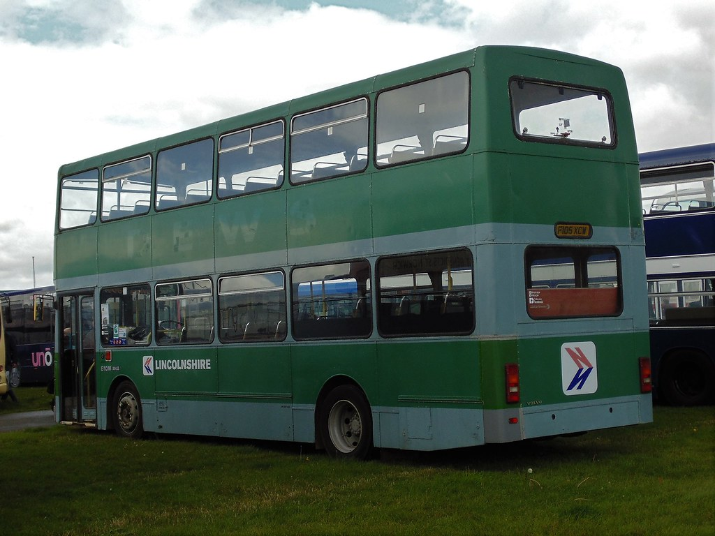 Lincolnshire Roadcar 705 F105XCW