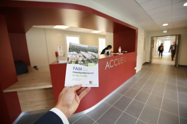 """Inauguration du Foyer d'Accueil Médicalisé Interdépartemental """"Patrick DEVEDJIAN"""" aux Mureaux"""