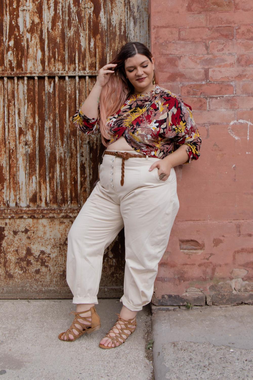 vintage curvy outfit plus size (5)