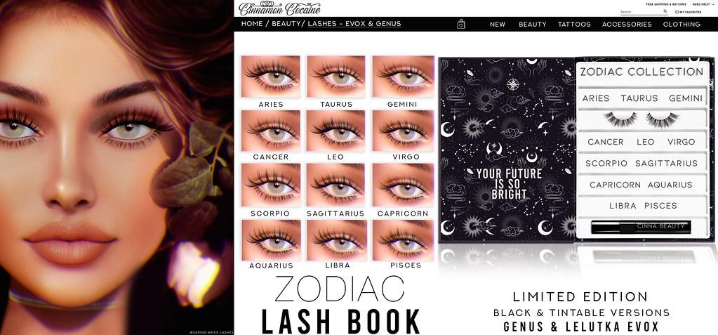 Zodiac Lash Book Giveaway