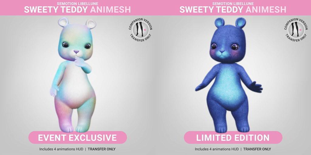 SEmotion Libellune Sweety Teddy Animesh