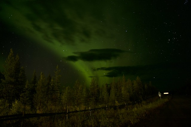 Giulia Mantovani: Aurora boreale. Esrange, Svezia