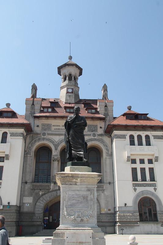 Modern Statue of Ovid
