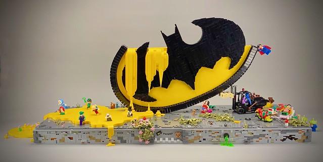 Lego - The Batman logo