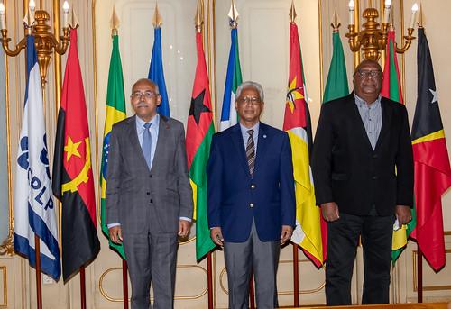 21.09. Secretário Executivo reúne com Embaixador de Boa Vontade da CPLP