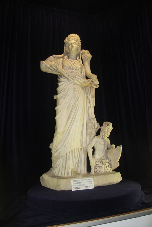 Statue of Fortuna and Pontus