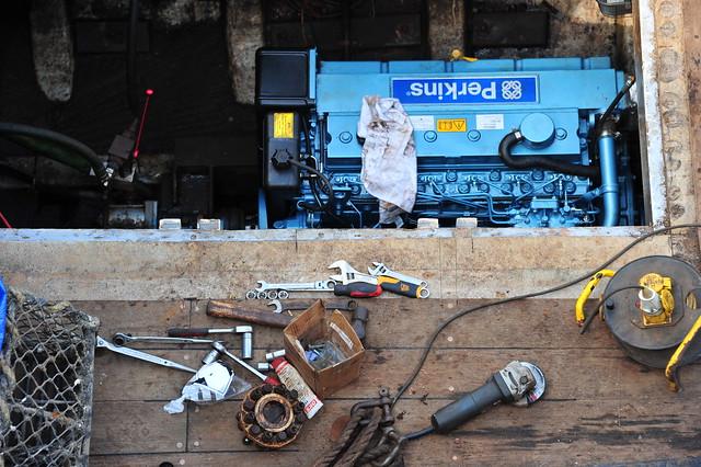 Perkins engine repair
