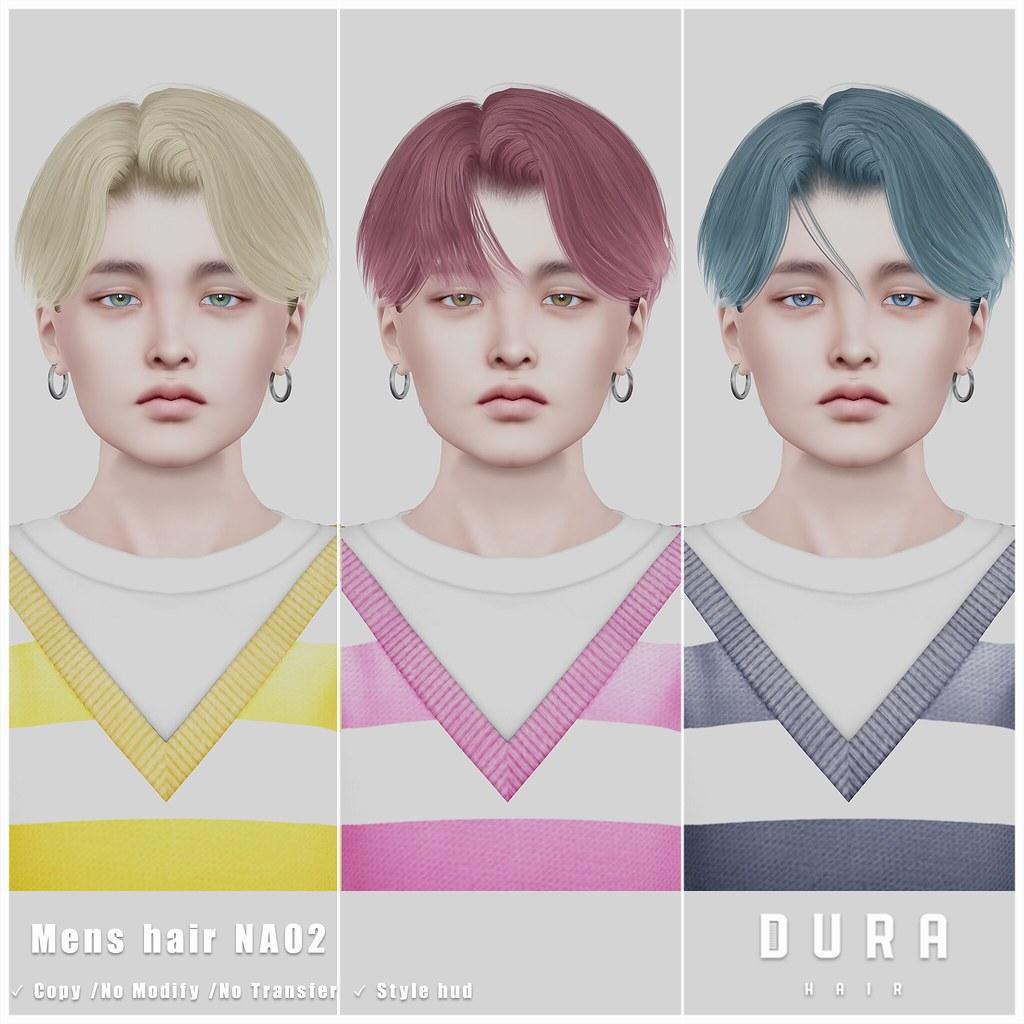 DURA-NA02(Mens hair)