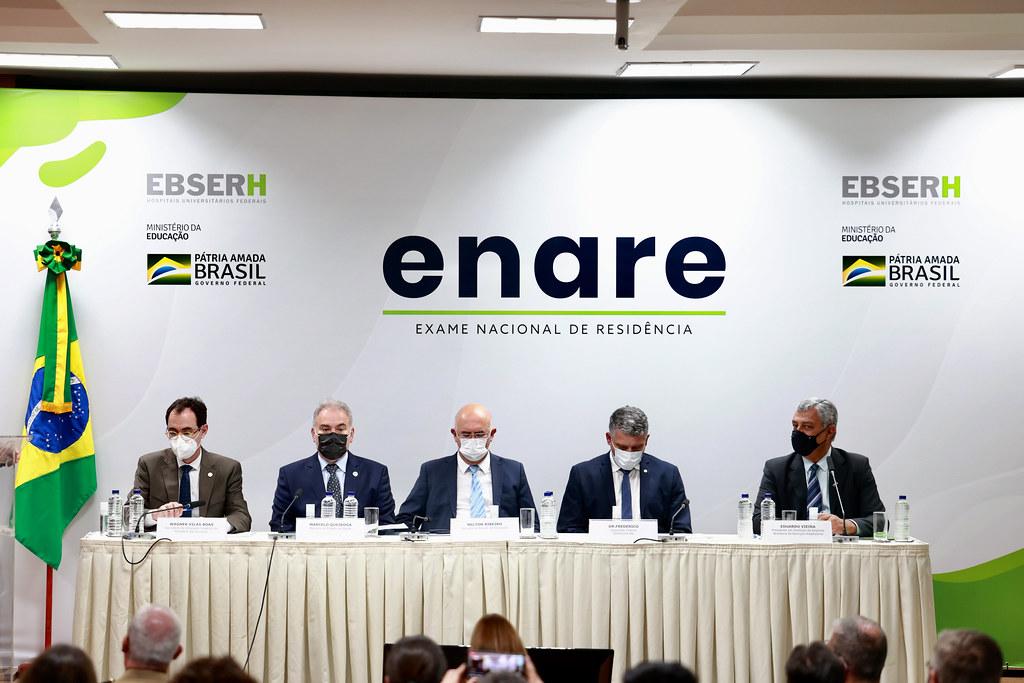 Cerimônia de abertura de adesão ao exame nacional de residência (ENARE). Brasília, 16.09.2021. Fotos- Walterson Rosa-MS-0834