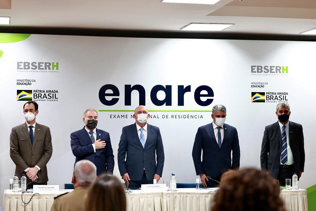 Cerimônia de abertura de adesão ao exame nacional de residência (ENARE). Brasília, 16.09.2021. Fotos- Walterson Rosa-MS-0829