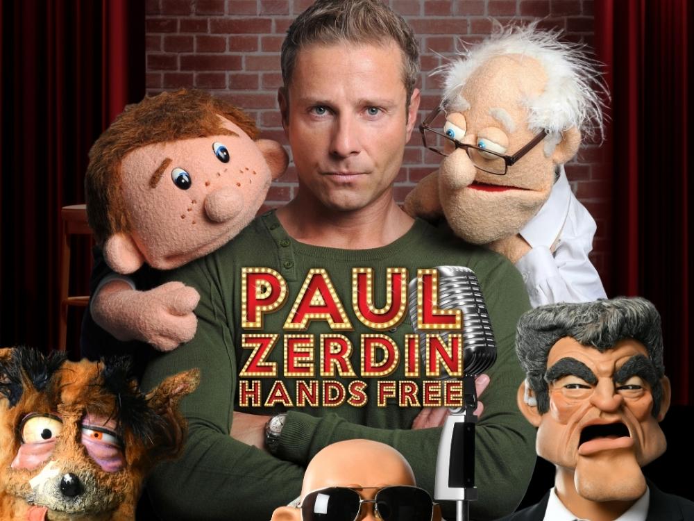 Paul Zerdin - Hands Free