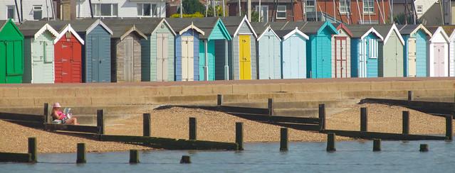 Beach Huts @ Brightlingsea Essex.