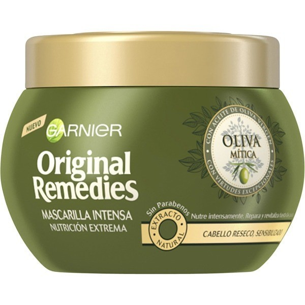 Garnier Original Remedies Mascarilla Intensa Aceite Oliva Mítica Cabello Seco 300 ml