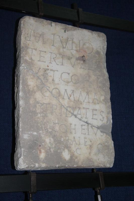 Funerary Monument of M. Julius Tertullus