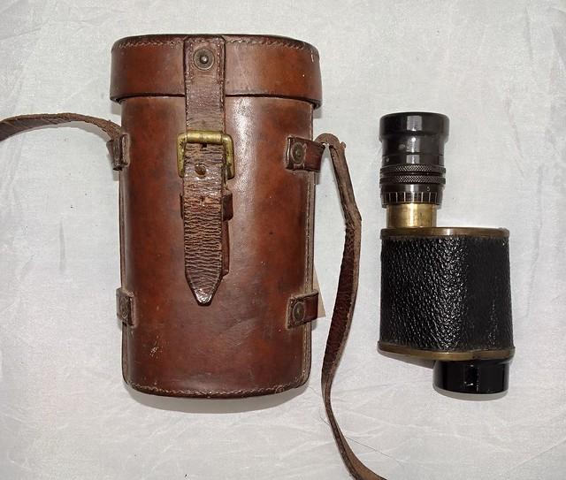 Prismatic Monocular No. 1A Mk II 8x30 & Timbers 1931 Case