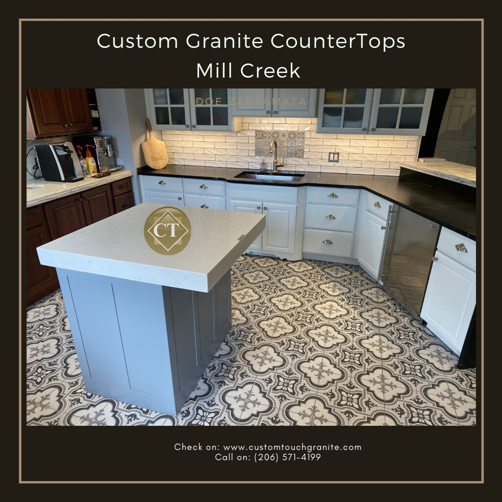 Custom Granite CounterTops Mill Creek | Custom Touch Granite | Perfectly natural