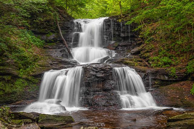Ricketts  Glen Tuscarora Falls