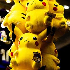 Pikachu plushes