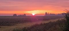 Sunrise over Thorney