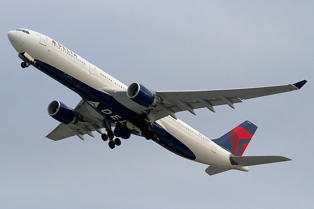 N819NW   Airbus A330-323   Delta Air Lines