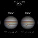 Jupiter (x4) - 15 September 2021)