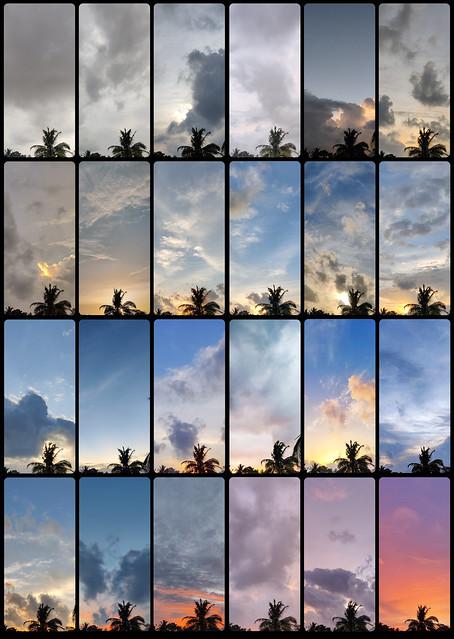The Sunset Color Palette, Sri Lankan version!