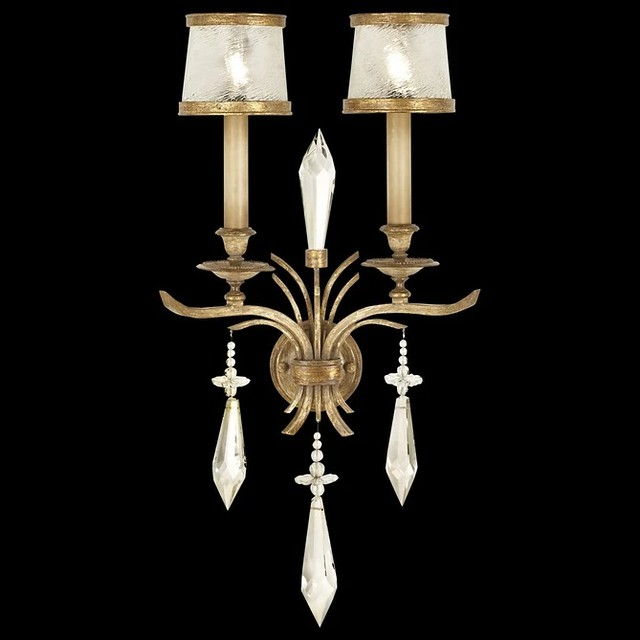 Fine Art Monte Carlo 31in Sconce 567950   Luxury Wall Sconces At Grayson Luxury