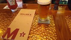 Current Miller's Ale House Menu