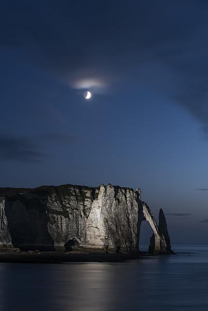 Etretat by Night