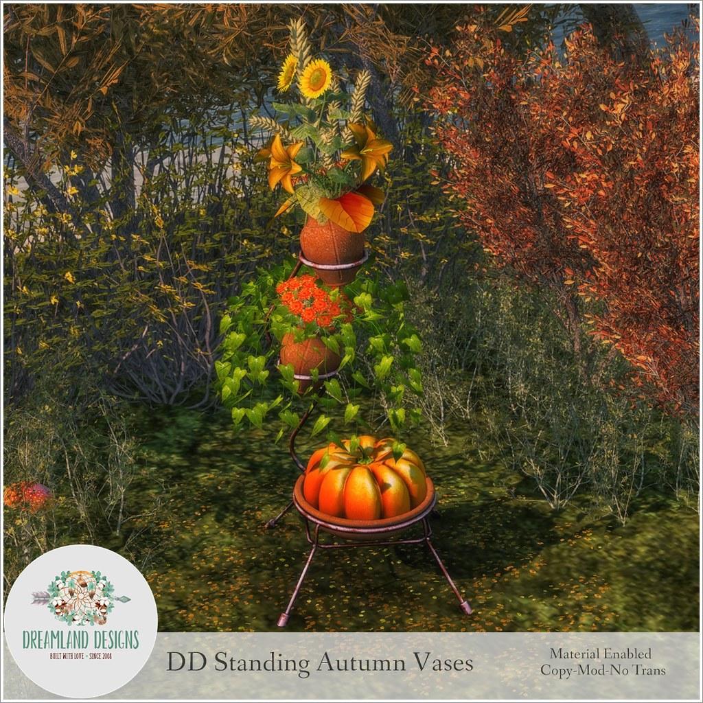 DD Standing Autumn VasesAD