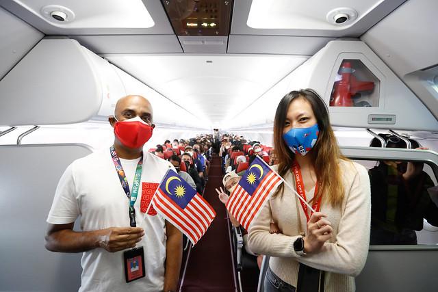 Airasia Rai Pelancaran Gelembung Perjalanan Langkawi, Sambutan Berganda Sempena Hari Malaysia