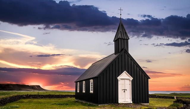 Budarkirkja church (Iceland)
