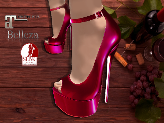 ::AC:: Vine Shoes Heels / SLINK/MAITREYA/BELLEZA