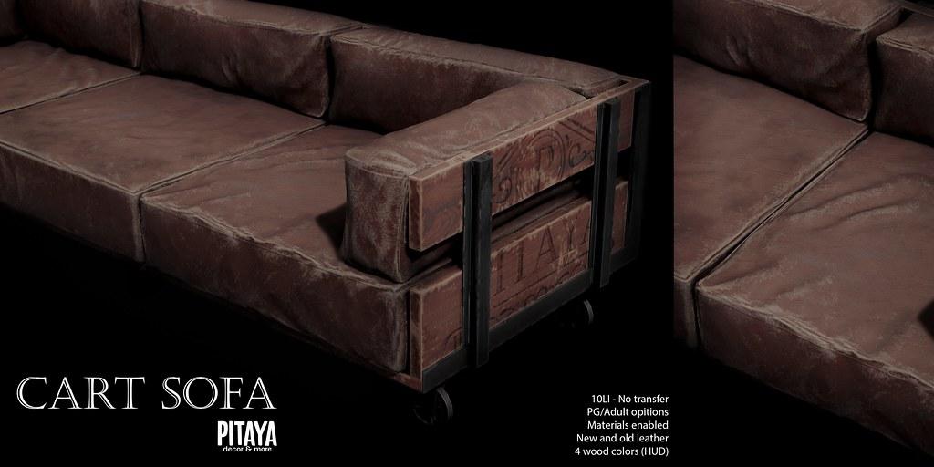 Pitaya – Cart Sofa @ Access