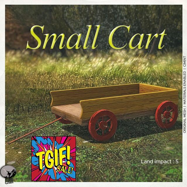Petit Chat : Small Cart @ TGIF sales