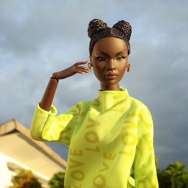 Nadja in the evening sun 💛