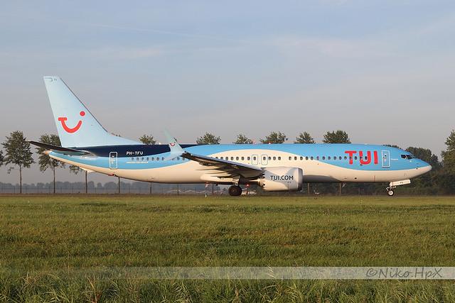 Boeing 737-8 MAX TUI Airlines Nederland PH-TFU