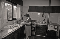 Mrs. Long in the kitchen 1996 - signora Long in cucina 1996