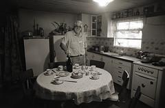 Mr. Malan, of the Piamunteisa Association in the house 1996 - il sig Malan, dell'Associazione Piamunteisa in casa 1996