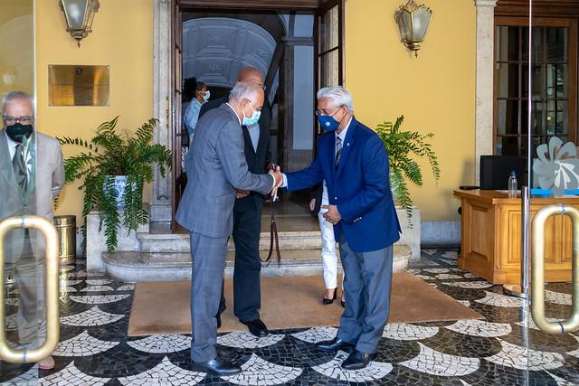Secretário Executivo reúne com Embaixador da Boa Vontade da CPLP_ (24)