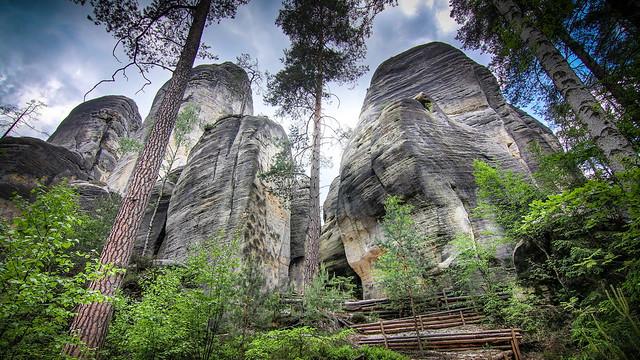 Teplice Rocks,  CZ  -  N6581