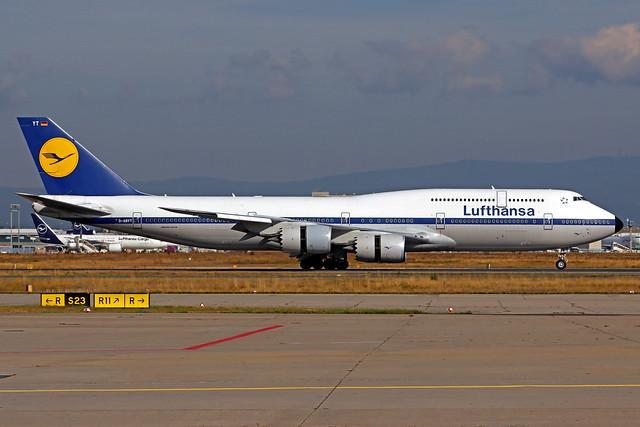 Lufthansa Boeing 747-830 D-ABYT FRA 13-09-21
