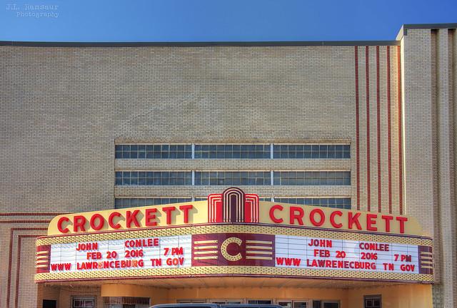 Crockett Theatre - Lawrenceburg, Tennessee