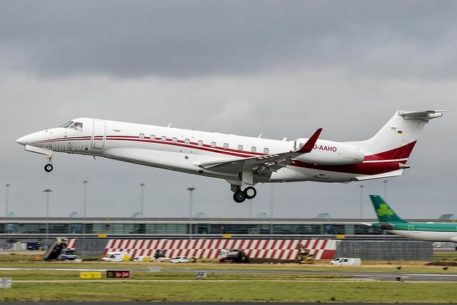 D-AAHO | Air Hamburg | Embraer EMB-135BJ Legacy 600 | CN 14501137 | Built 2011 | DUB/EIDW 06/08/2021 | ex PR-ITU