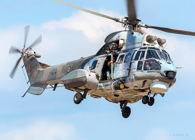 Aerospatiale AS332 Super Puma Hellenic Air Forc N° 2730
