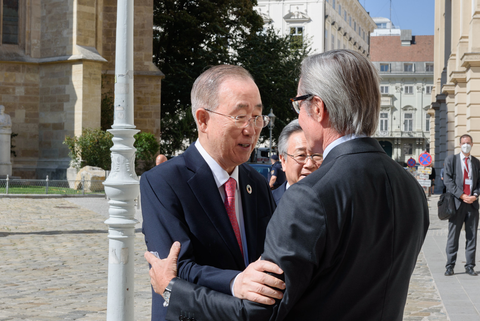 BKMC Co-chair Ban Ki-moon Visit Vienna 2021