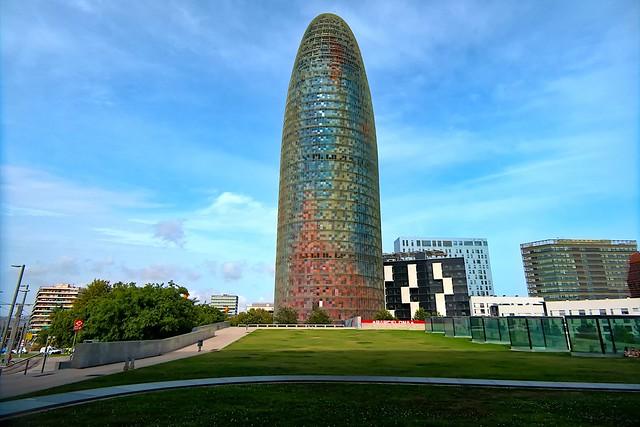 An afternoon/Una tarde a la Torre Agbar