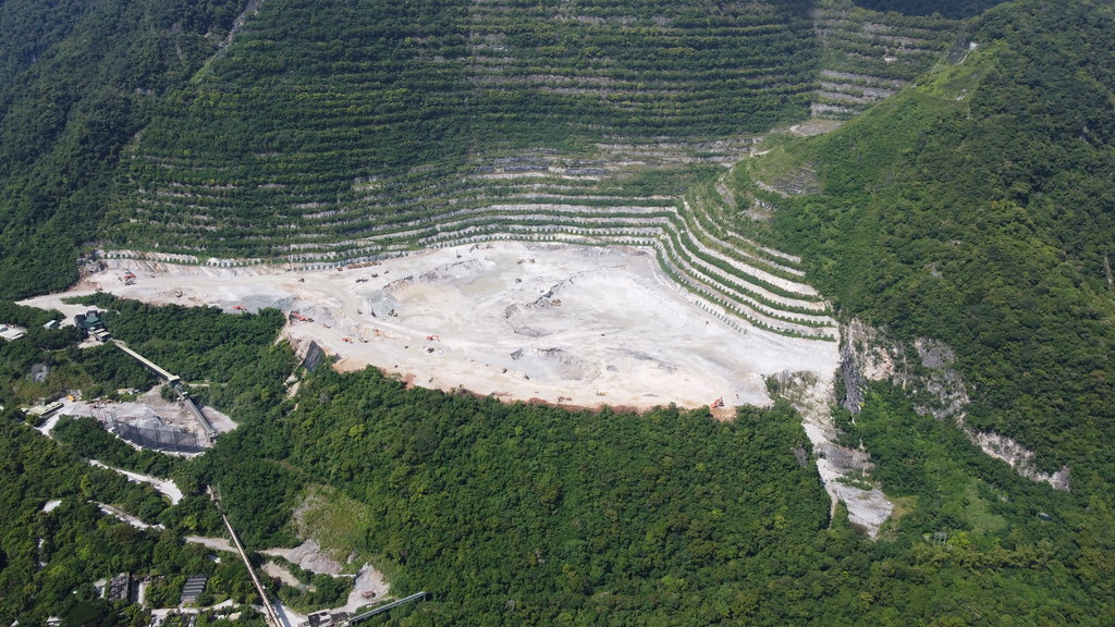 202108亞泥新城山礦場。圖片來源:地球公民基金會,攝影Garu (1)
