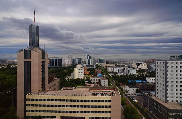 Beijing - Storm moves in...